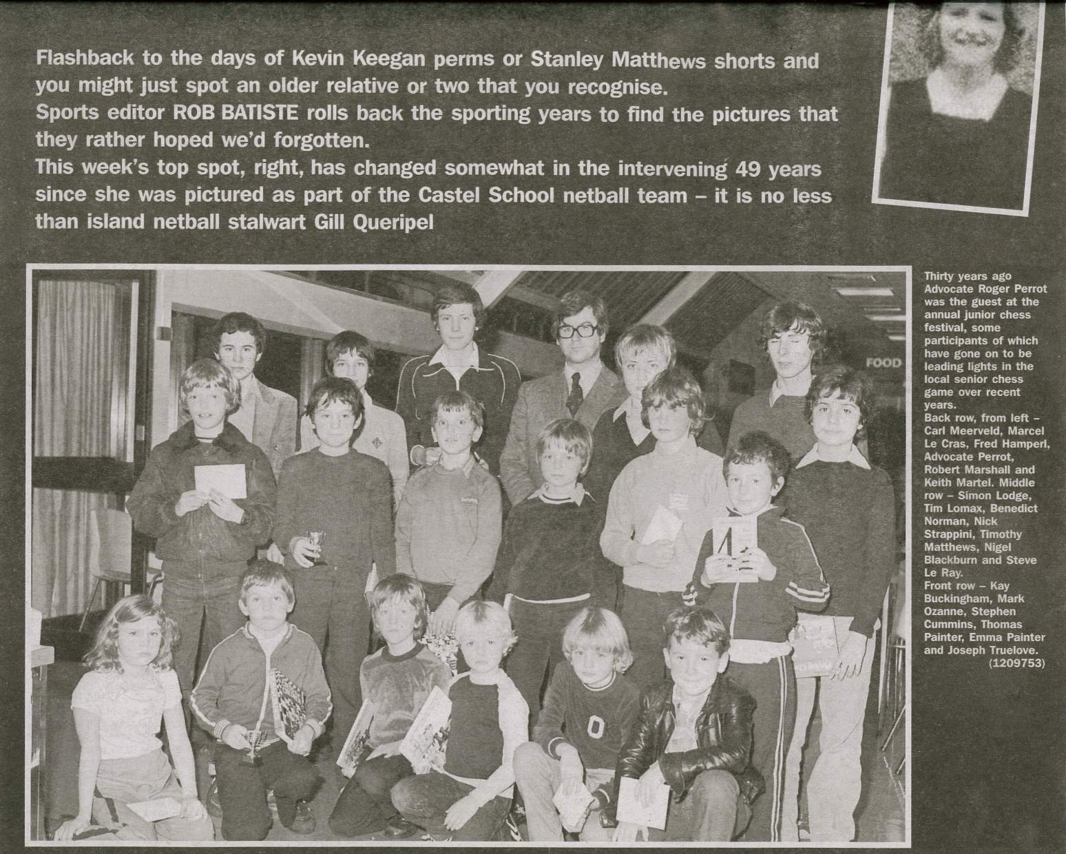 Answer With Other Young Guernsey Greats